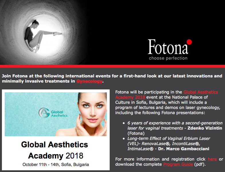 News from Fotona